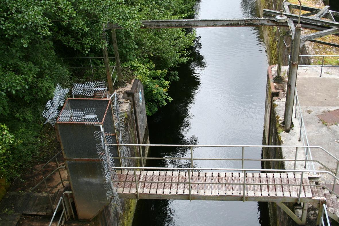 The ESB lock at Ardnacrusha | Irish waterways history