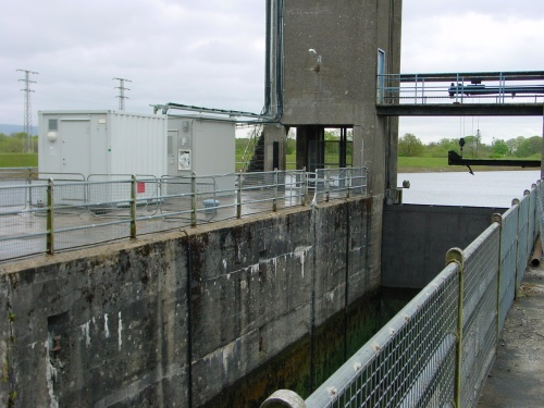 Turbine-side bank of upper chamber (2007)