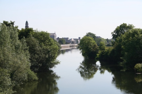 Looking downstream from Workhouse Bridge