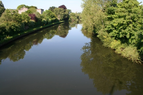 Looking upstream from Workhouse Bridge