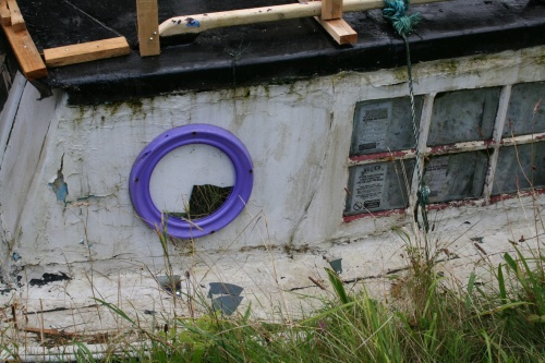 Mirrored porthole