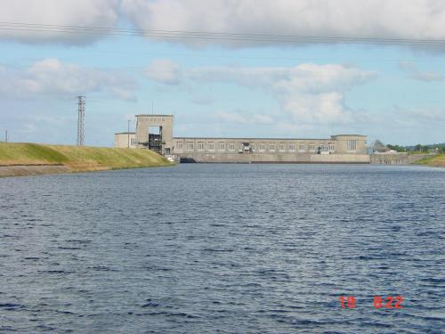 Ardnacrusha power station from the headrace