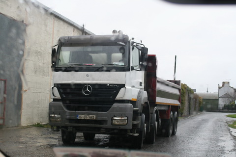 Big truck at Shannon Harbour