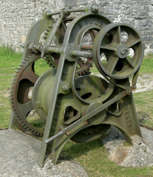 Magpie Mine winch (John Ditchfield)