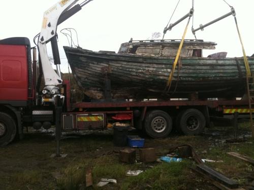 Béal na Bláth safely on board (Donal Flynn 2011)