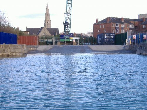 The new slipway completed