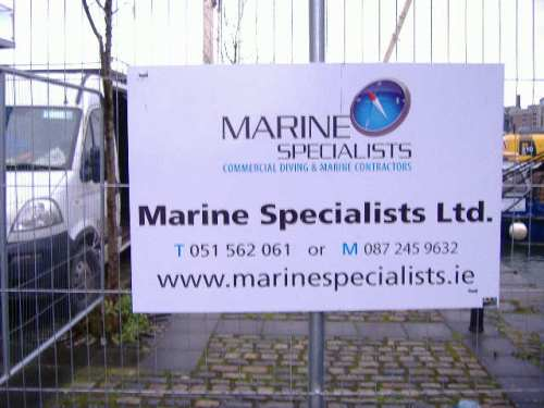 Marine Specialists sign (Paul Quinn)