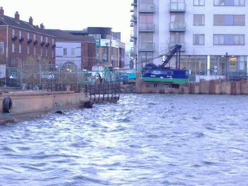 piling from the sea lock (Paul Quinn)