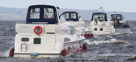 Convoy on Lough Derg