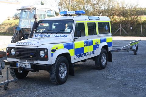 Limerick Marine SAR Land Rover
