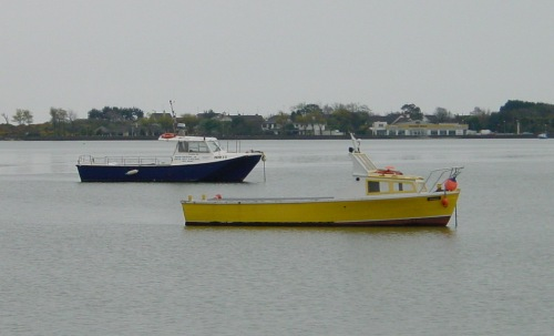 boats moored off whb&tc