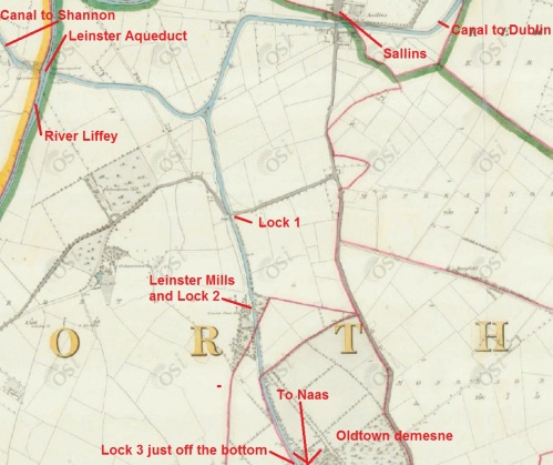 Naas Branch from Soldier's Island to Oldtown [OSI ~1840]
