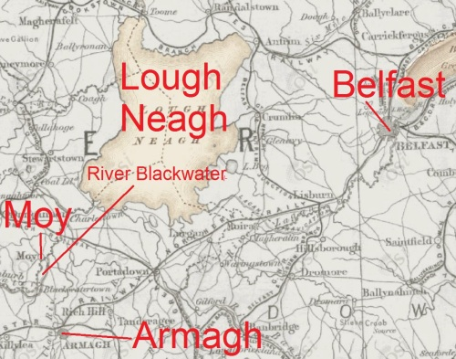 Armagh, Moy and Lough Neagh