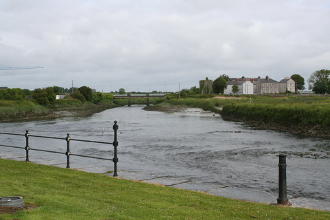 Very low water at Clarecastle 5_resize