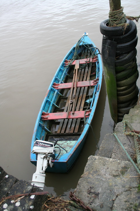 Harry Blackwell's gandalow at Massy's Quay on the Deel 02_resize