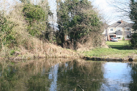 Sallins dry dock across the canal 20150308 01