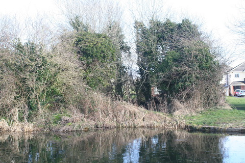 Sallins dry dock across the canal 20150308 03
