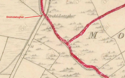 Map Brickey Drehidatogher 1840_resize