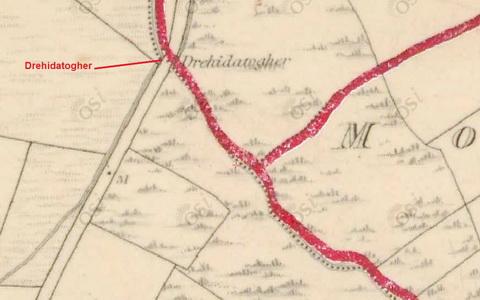 Map Brickey Drehidatogher 1840_resize