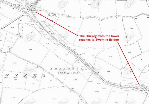Map Brickey to Twomile Bridge 1900_resize