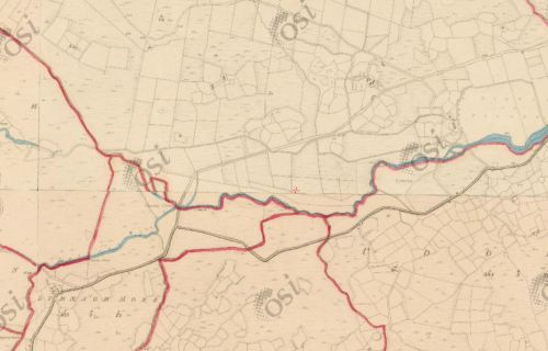 "OSI 6"" map of the area (~1840)"
