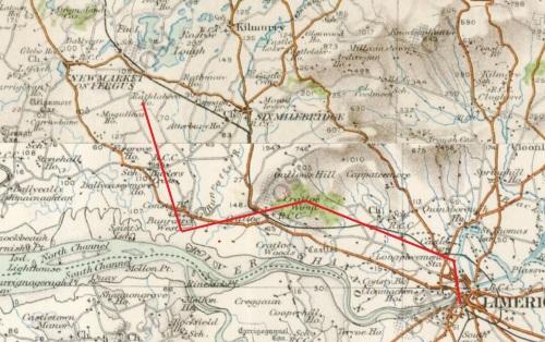 The flight of the balloon (OSI ~1840)