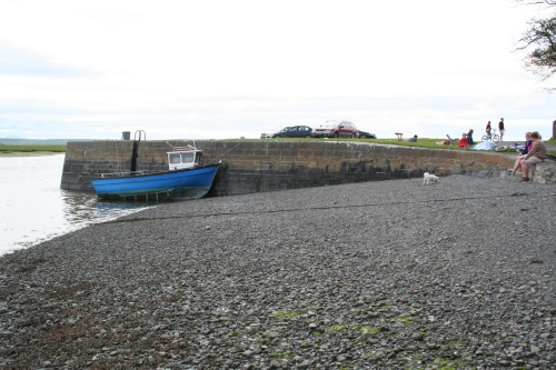 The Shannon Commissioners quay at Querrin